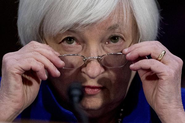 Šéfka americkej centrálnej banky (Fed) Janet Yellenová