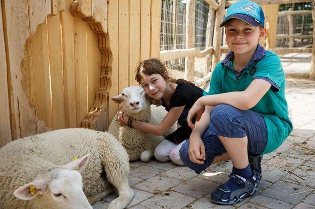 Deti sa určite potešia zvieratkám vo Family Parku Tante Mizzi.