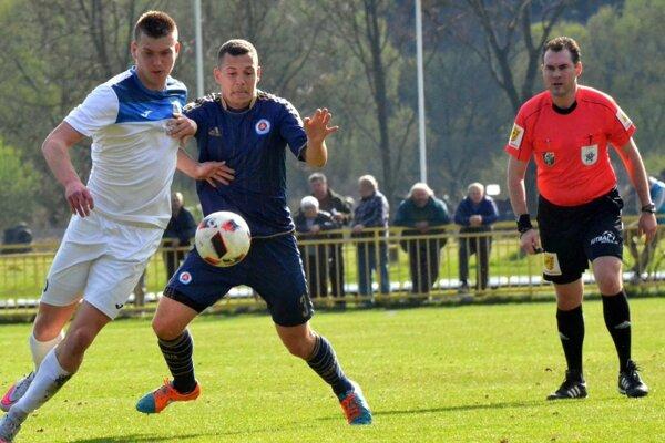 Ľubomír Gorelčík strelil prvý jarný gól Fomatu.
