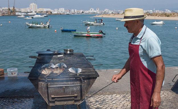 Rybárčenie je v Algarve populárne.