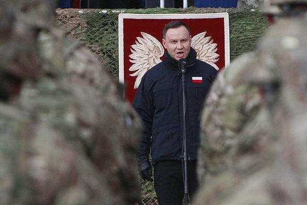 Poľský prezident Andrzej Duda.