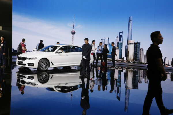 V piatok otvorí dvere širokej verejnosti Autosalón v Šanghaji.