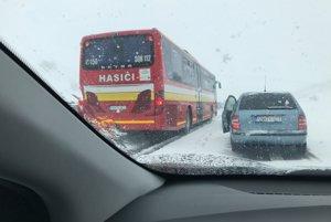 Špeciálny hasičský evakuačný autobus