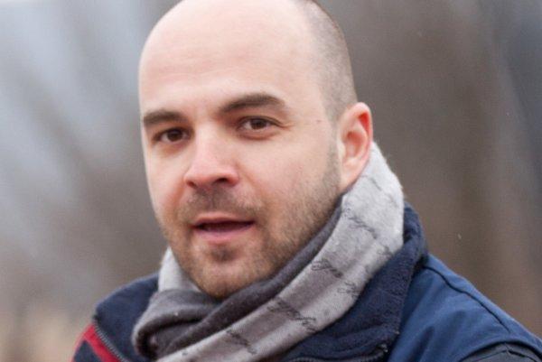 Riaditeľ Modrého anjela Branislav Chrenka.