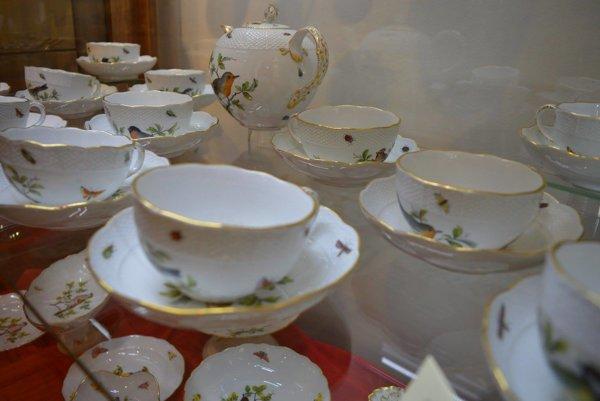 Meissenský porcelán. Patrí k najvzácnejším exponátom na výstave.