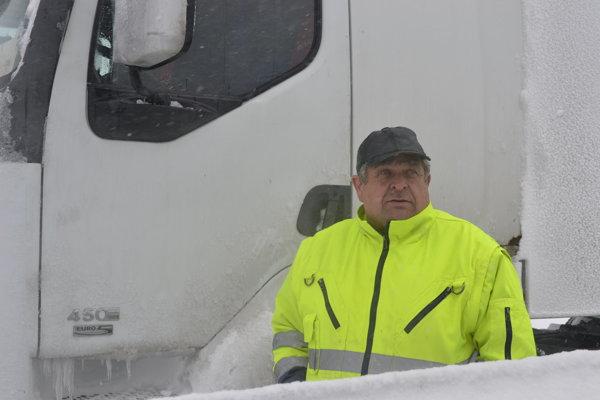 Kamionista Anton opísal okolnosti nehody.