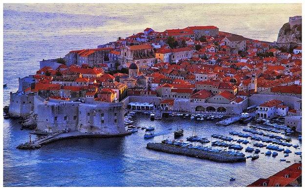Dubrovnik. Najobľúbenejšia turistická destinácia v Chorvátsku.
