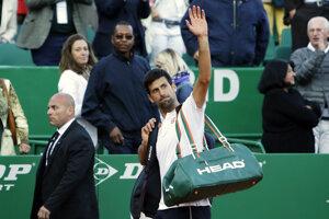Novak Djokovič sa lúči s fanúšikmi v Paríži.