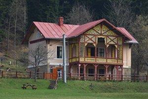 Kaštieľ v časti obce Dravce - Bukovinka.