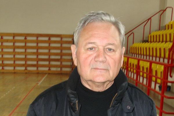 Prezident VK Slovan R. Sobota Štefan Baláž.