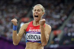 Tatiana Černovová prišla o ďalšiu medailu.