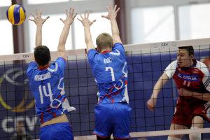 Slovenskí volejbalisti napokon po dráme prehrali.