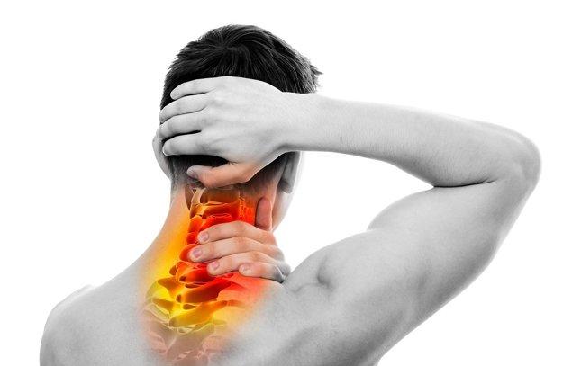 Medzi najšastejšie patrí bolesť krčnej chrbtice.