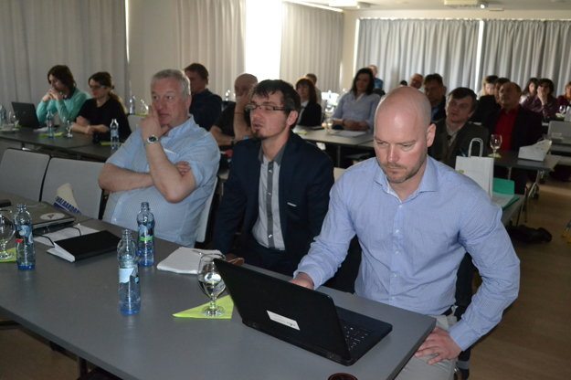 Nórski účastníci projektu.