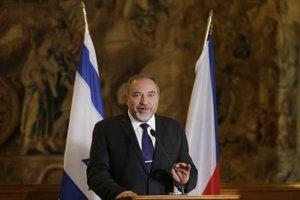 Izraelský šéf diplomacie Avigdor Lieberman.