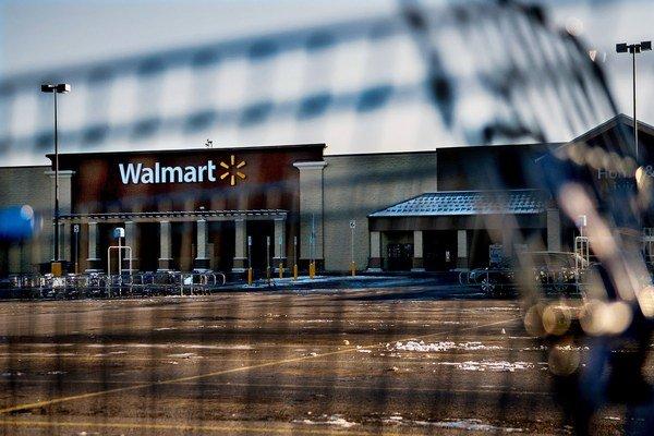 Walmart v americkom Idaho.