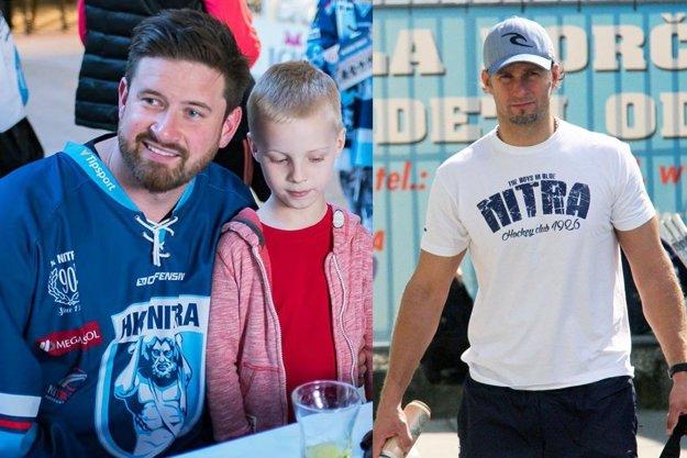 Michal Valent a Juraj Štefanka nebudú v novej sezóne členmi tímu HK Nitra. Obaja boli členmi vlaňajšieho zlatého tímu a končia po troch rokoch. S fanúšikmi sa lúčili v utorok na autogramiáde.