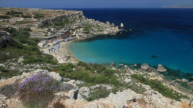 Pobrežie na Malte.