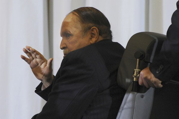 Alžírsky prezident Buteflika.