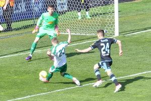 Šanca Ádama Mészárosa v 2. minúte stretnutia volala po góle.