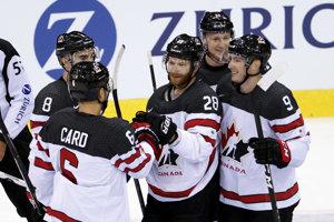 Kanada si hladko poradila so Švajčiarskom.