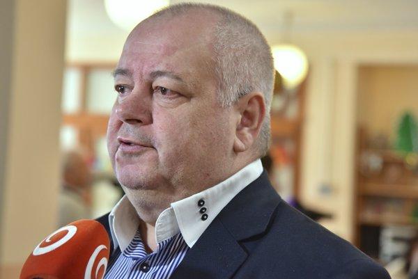 Starosta mestskej časti Bratislava - Petržalka Vladimír Bajan.