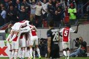 Hráči Ajaxu.