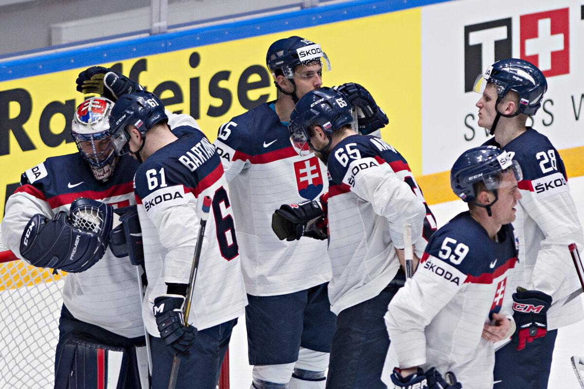 1a0976e5f9cc1 Slovensku v rebríčku IIHF patrí siedme miesto - Šport SME