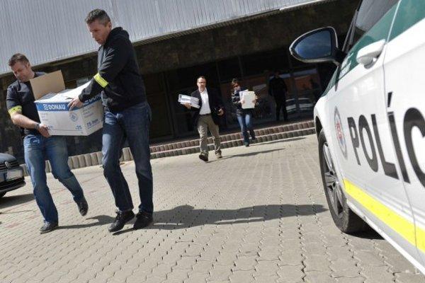 Policajti zhabali účtovníctvo hokejového klubu.