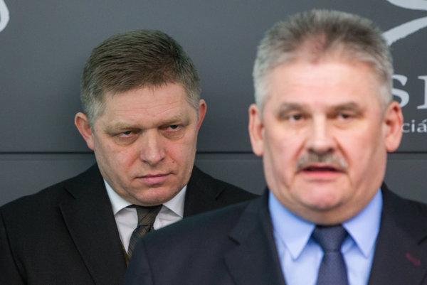 Robert Fico a Ján Richter.