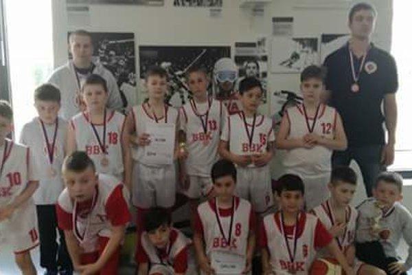Bánovskí basketbalisti.