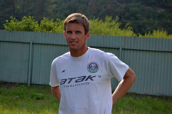Milan Jambor, hrajúci tréner Svitu.
