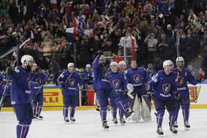 Francúzi sa tešili zo senzačného víťazstva.