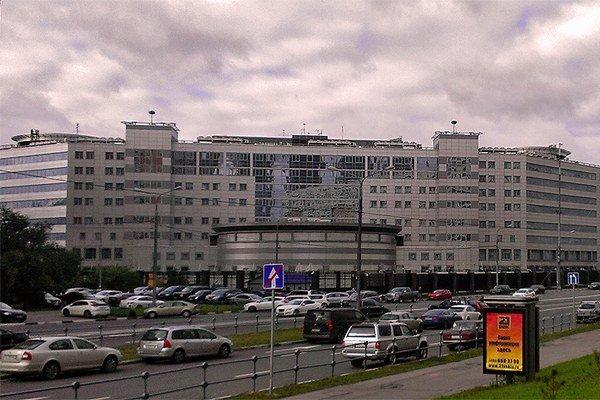 Sídlo ruskej tajnej služby GRU v Moskve.