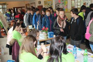 Podujatie žiakov zaujalo.