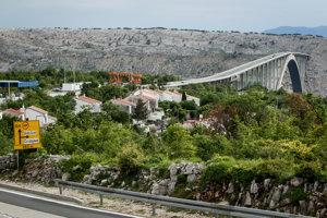 Most Krk už 37 rokov spája rovnomenný ostrov s pevninou.