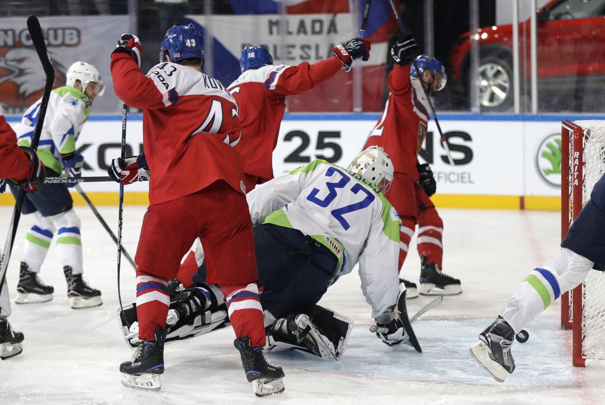 Ms V Hokeji 2017 Online česko Slovinsko Sportsmesk