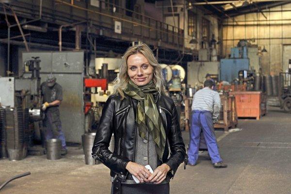 Marcela Tokošová, riaditeľka Kovotvaru v Kútoch FOTO: Ilustračná