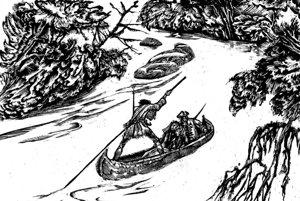 Schnitzerove ilustrácie. Poznali ich najmä čitatelia kníh zedície STOPY.