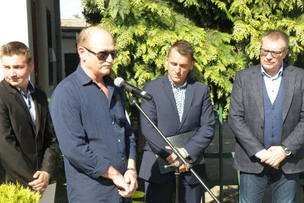 Syn Ladislava Gancznera Róbert sa poďakoval vedeniu FKM za šľachetné gesto.