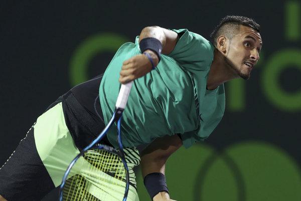 Austrálsky tenista Nick Kyrgios sa pre problémy s bedrovou oblasťou odhlásil z antukového turnaja v Ríme.