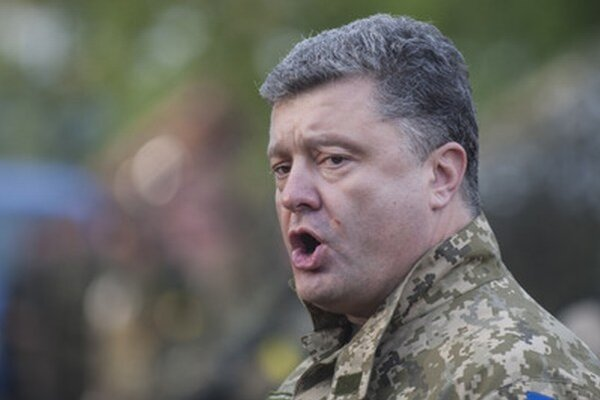 Ukrajinský prezident Porošenko.
