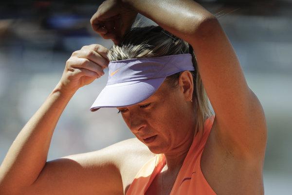 Maria Šarapovová nebude štartovať na Roland Garros.