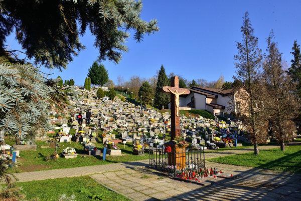 Vranovský cintorín.