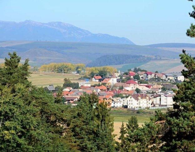 Obec Spišské Tomášovce.
