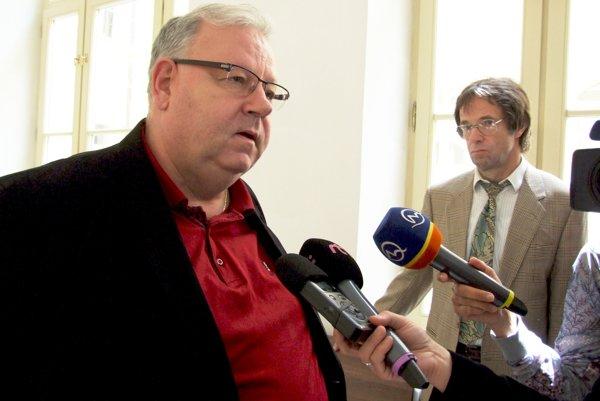 Právnik Peter Koscelanský a jeho klient Ľudovít Ďuriš.