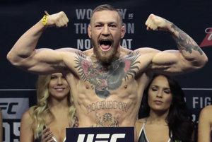 Írsky majster zmiešaných bojových umení Conor McGregor je známy svojim sebavedomím vystupovaním.