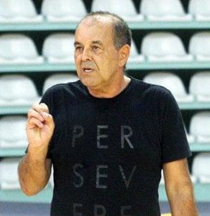Tréner Peter Kováčik.