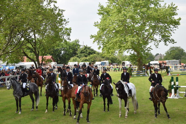 Súťažilo 42 koní.
