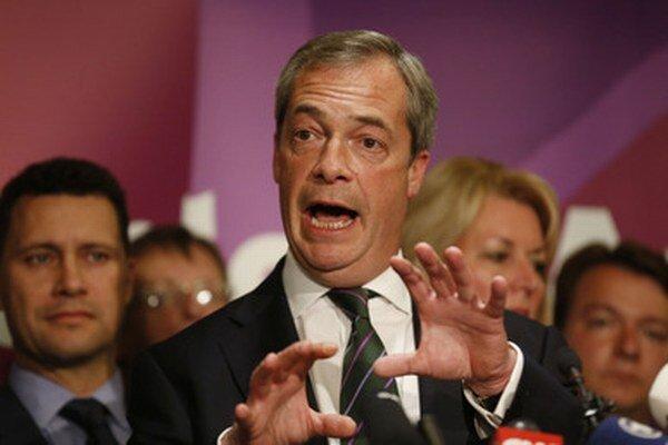 Nechceme mať nič spoločné s Národným frontom, hovorí Nigel Farage.